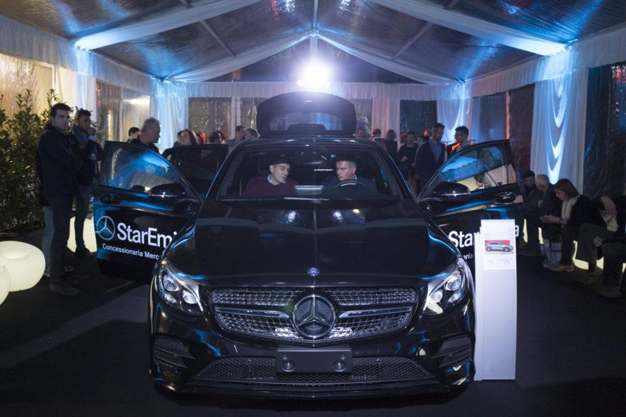 StarEmilia sceglie Fourghetti per presentare la nuova Mercedes