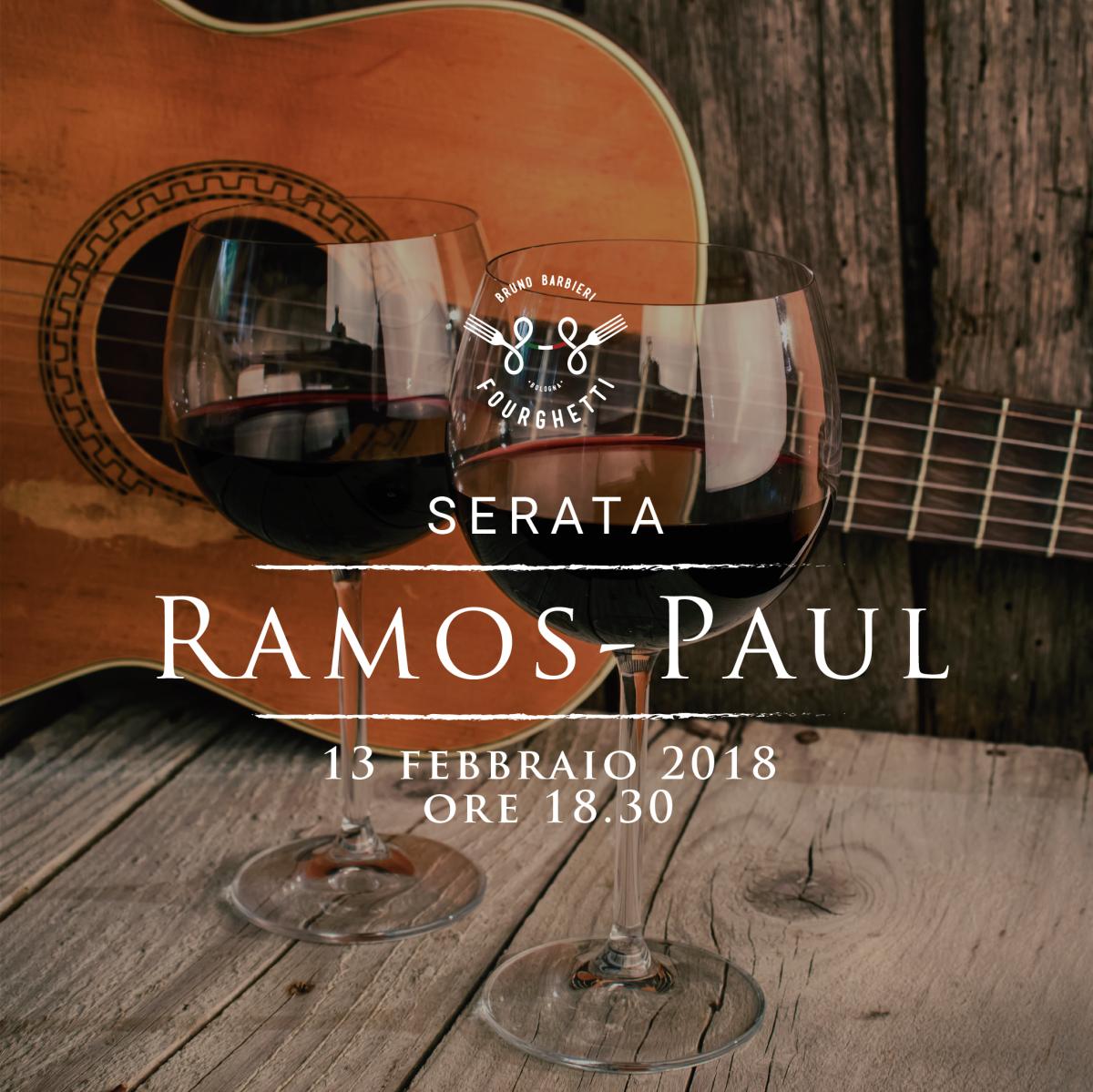 FOURGHETTI INCONTRA CANTINA RAMOS PAUL