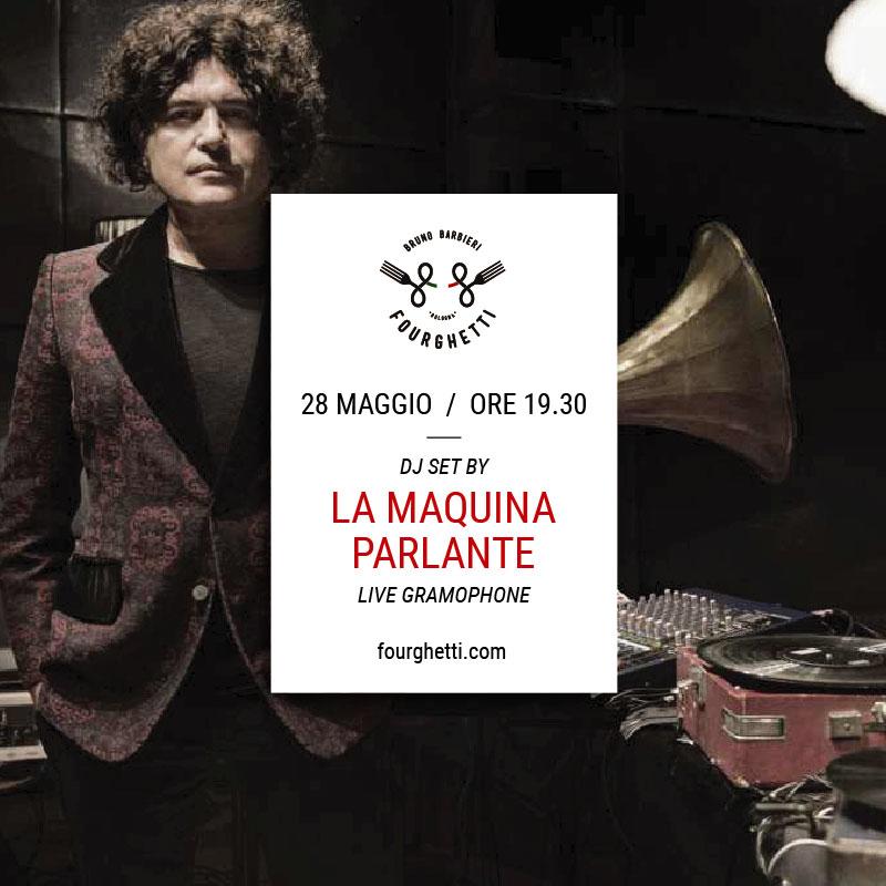 LA MAQUINA PARLANTE LIVE AL FOURGHETTI!